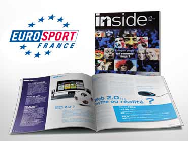 Création d'un journal interne EUROSPORT