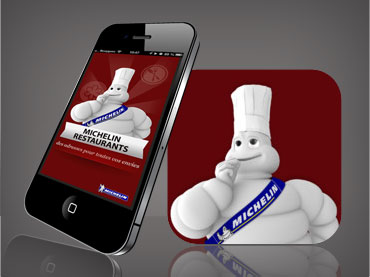 vignette portfolio apps Michelin Restaurants
