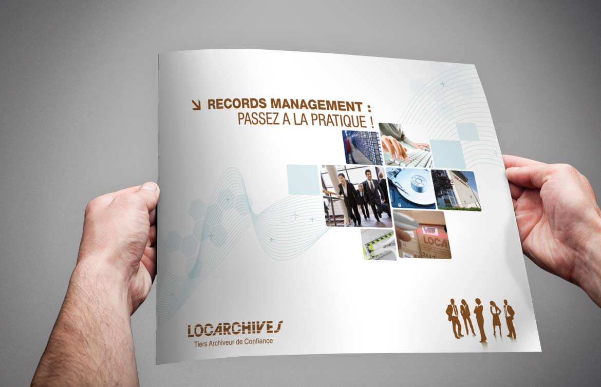 #print  #Brochure Locarchives Records Management