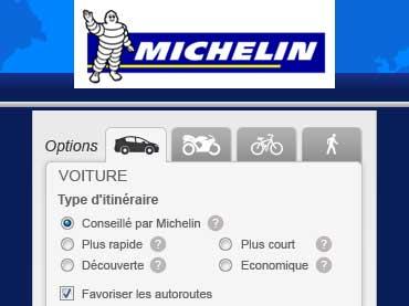 Vign portfolio web design ViaMichelin
