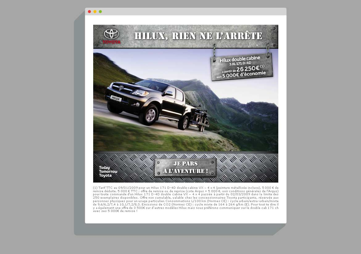 Newsletter Toyota Hilux