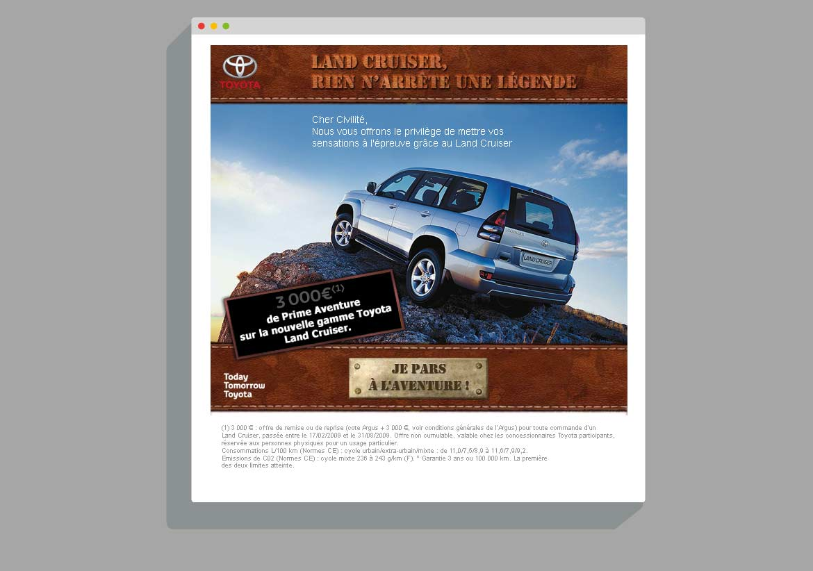 Newsletter Toyota Land Cruiser