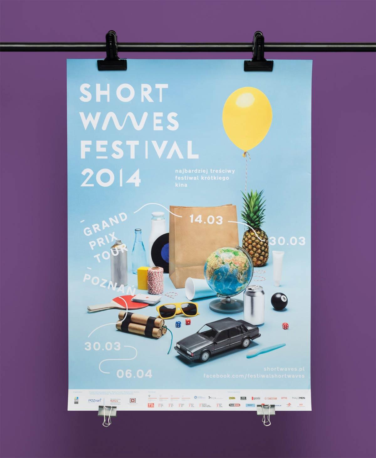 Affiche festival shortwaves