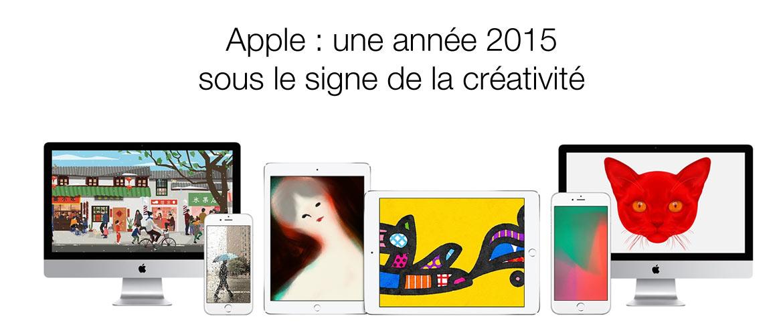 """image de la campagne Apple """"Lancez-vous"""""""