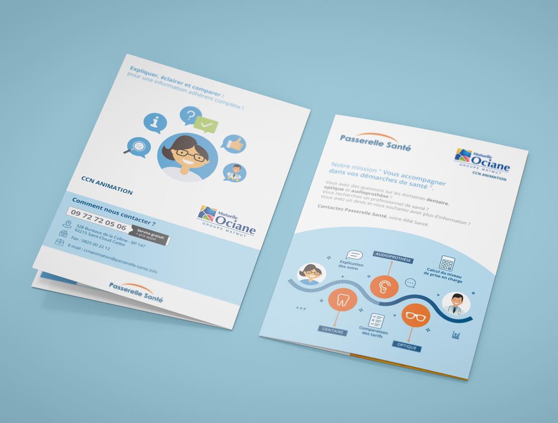 EquaSanté Leaflet-brochure A5 : Première et dernière de couverture