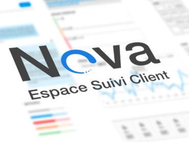 Vignette interface logiciel Nova CMS